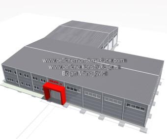 3d vizualizacija, idejna rešenja, čelične konstrukcije, projektovanje